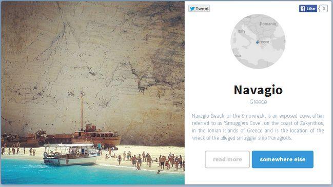 Con Somewhere puedes recorrer el mundo a través de Instagram Foursquare y