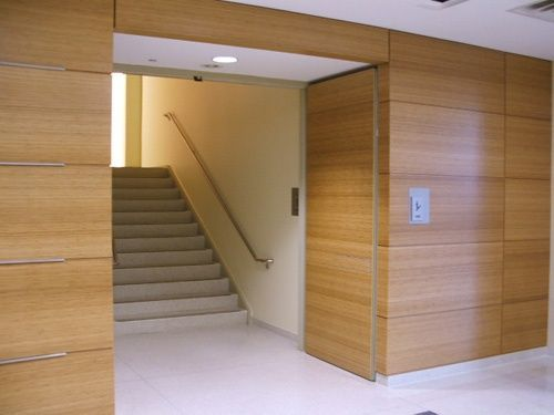 Door Systems integrated doors gallery of photos of our integrated doors work which includes elevator lobby doors elevator shaft doors and integrated doors. & Total Door Integrated Commercial Door with Wood Veneer | Stile ...