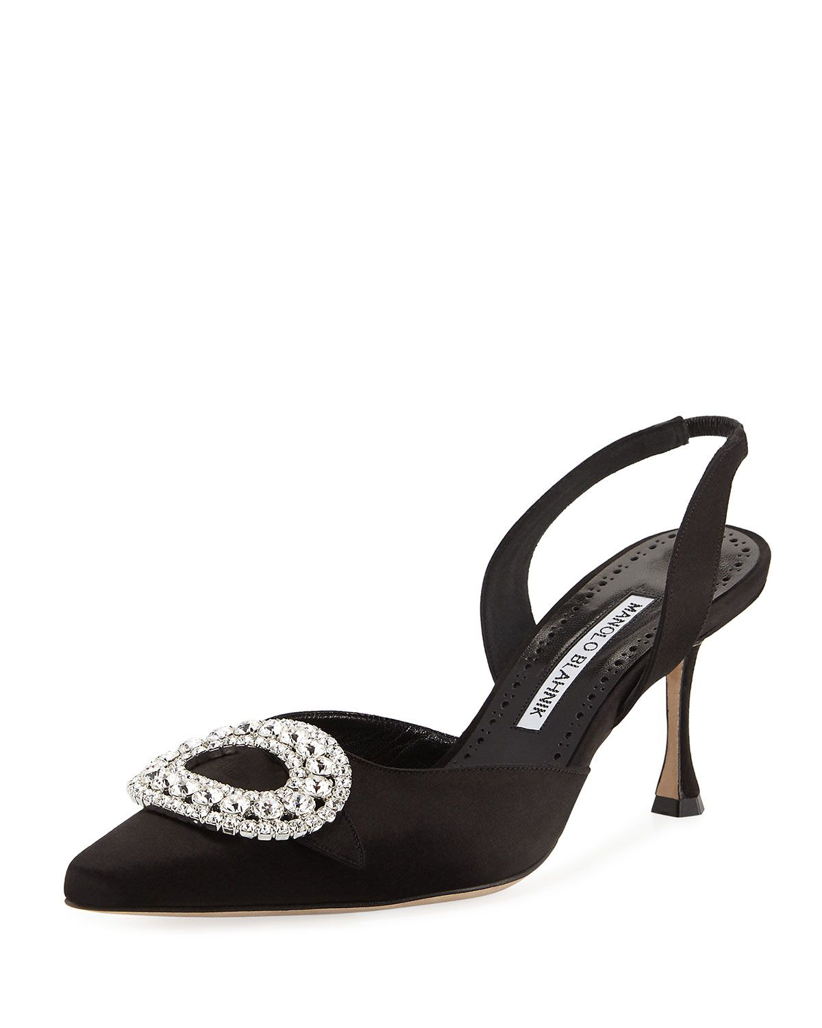 lowest price cheap price amazon footaction Manolo Blahnik Bow-Embellished Slingback Pumps pay with paypal for sale huge surprise sale online iYanr