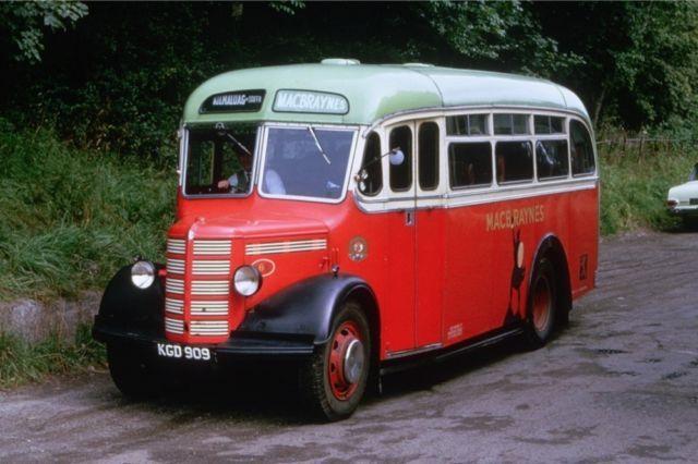 Bedford Macbraynes Kgd 909 Bus Bus Coach