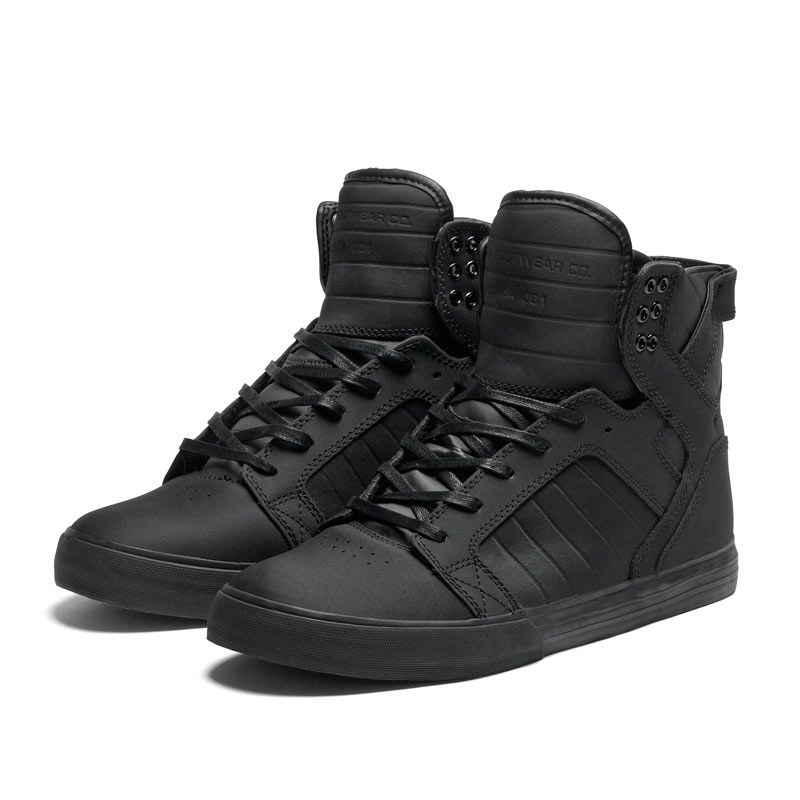 e4e933678f6 Matte black Skytop | Style on speed dial | Supra shoes, Shoes, Black ...