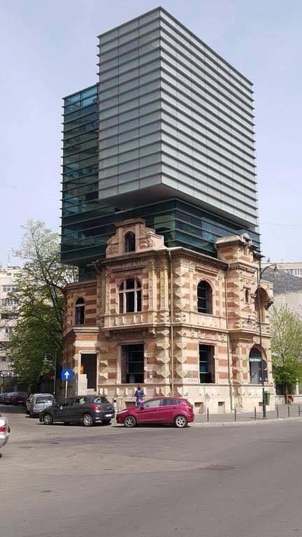 Bucarest, colegio de arquitectos