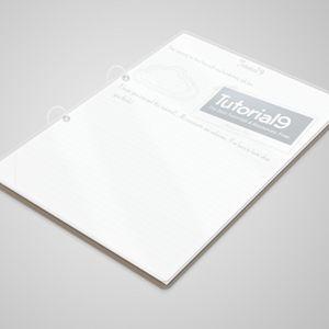3d Notepad PSD