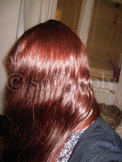 Haare tonen auf henna