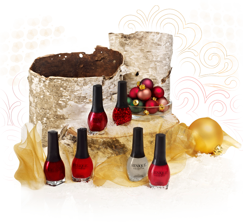 Venique Haute on Reds Holiday collection! Cruelty free