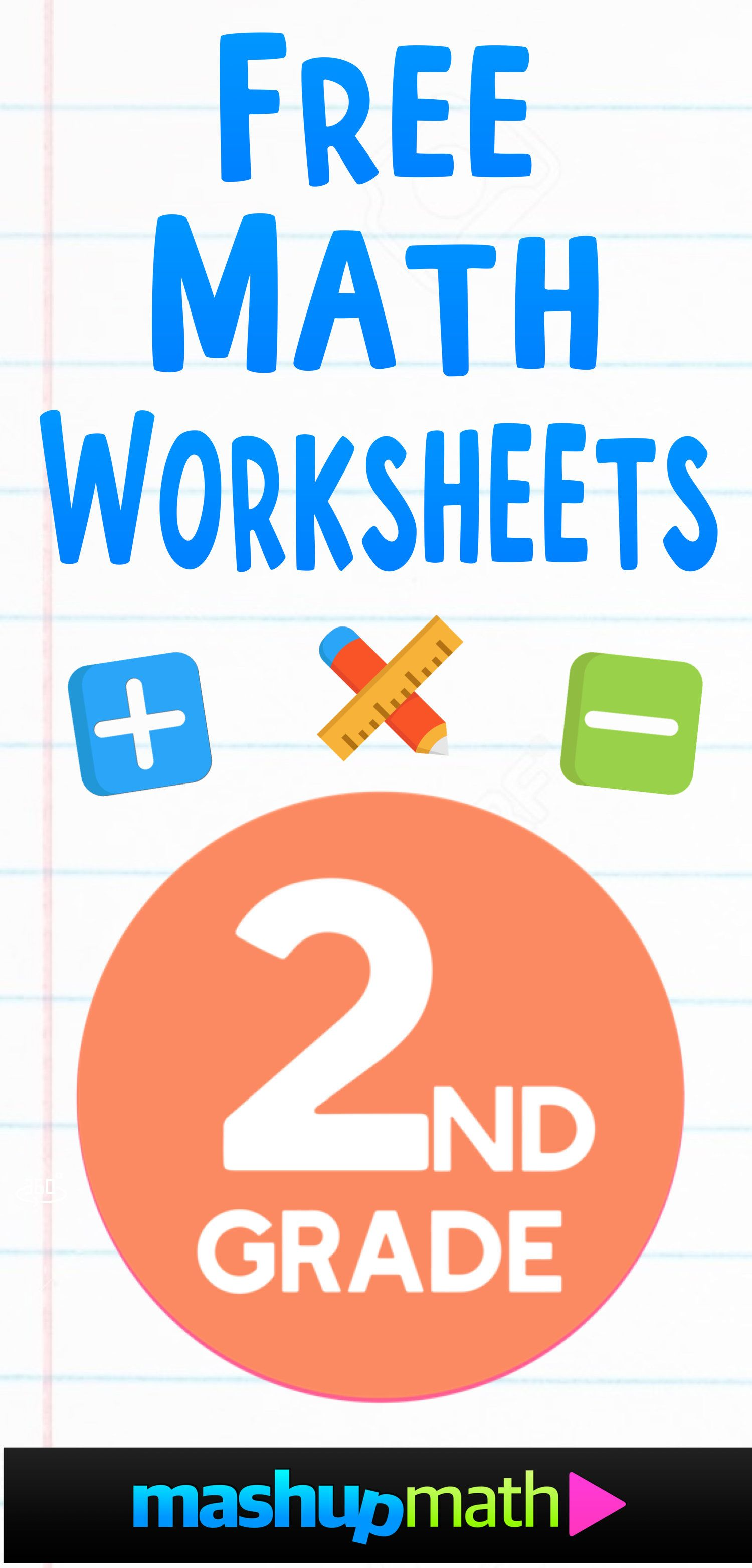 Free 2nd Grade Math Worksheets