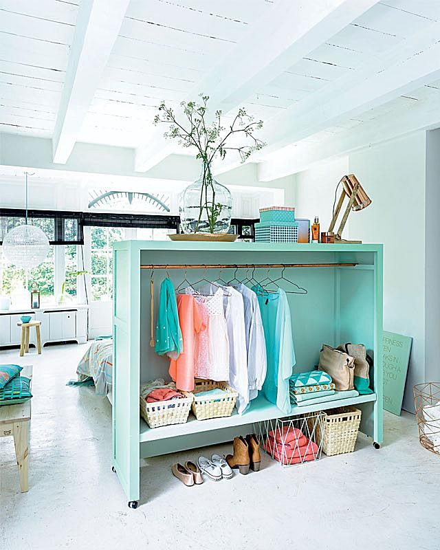 4 Space Making Room Dividers That Double As Storage Fabric Room