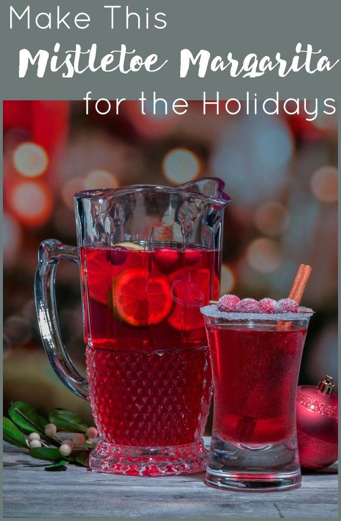 Get Kissed with this Mistletoe Margarita Cocktail Recipe