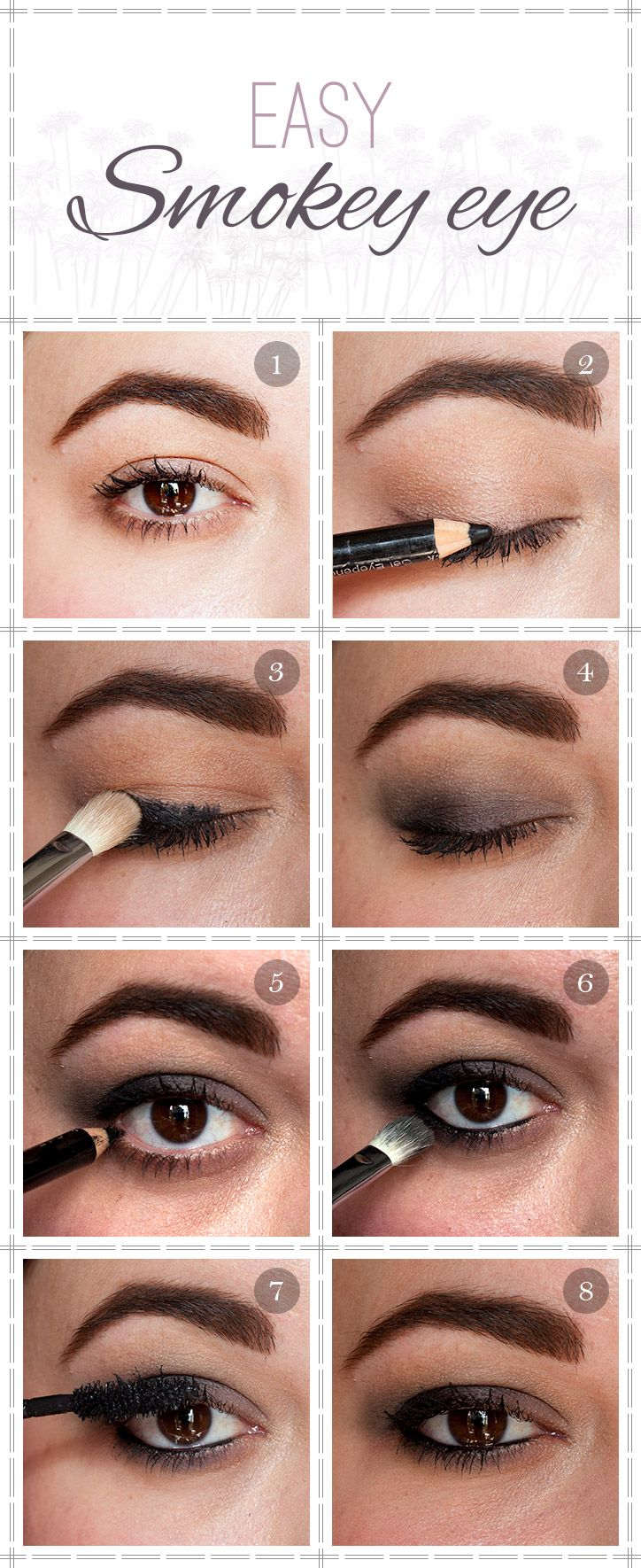 easy smokey eye tutorial | beauty | eye makeup designs