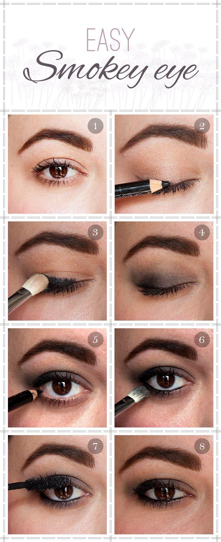 easy smokey eye tutorial #makeup #beauty | eye makeup