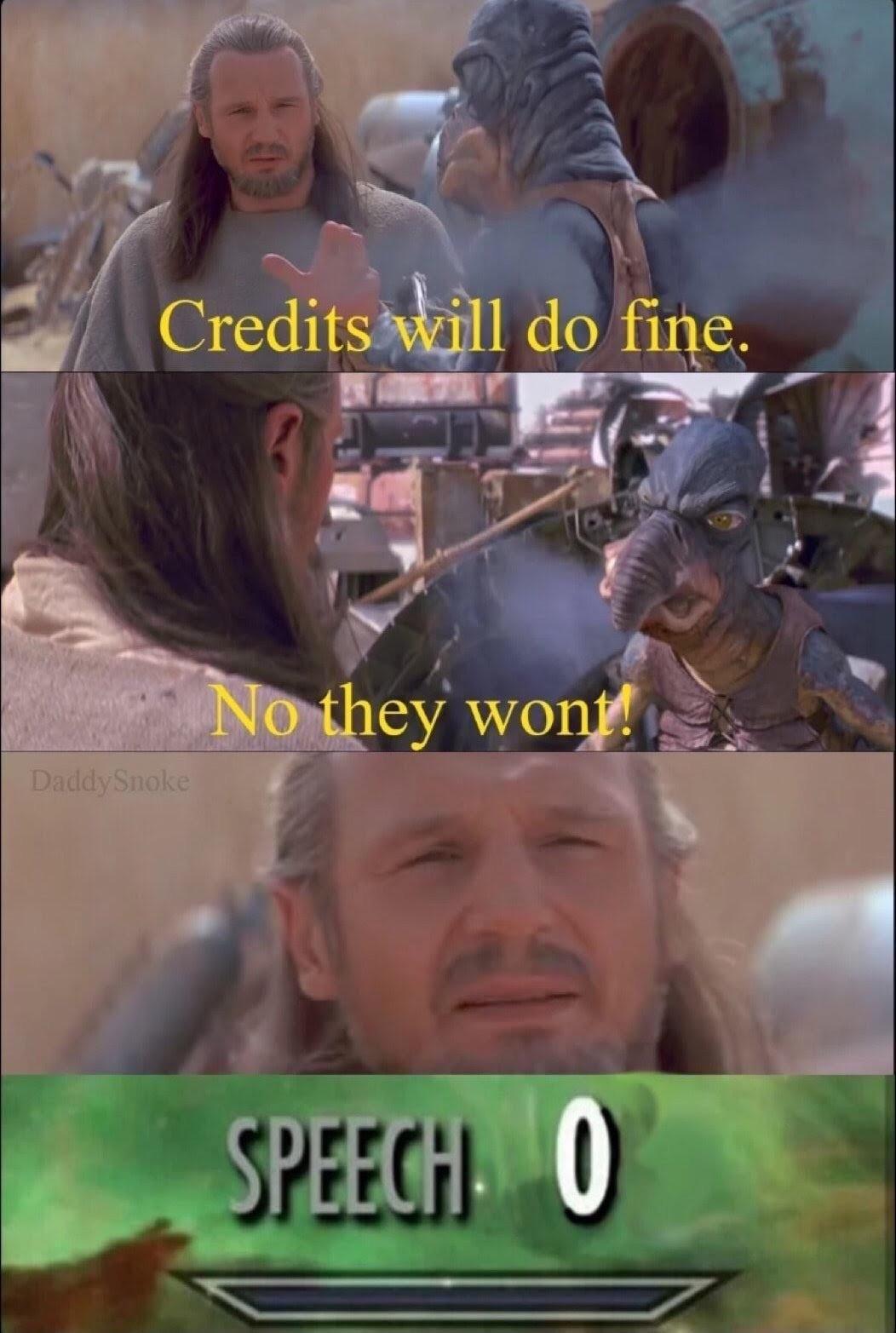 No They Won T Star Wars Jokes Funny Star Wars Memes Star Wars Memes
