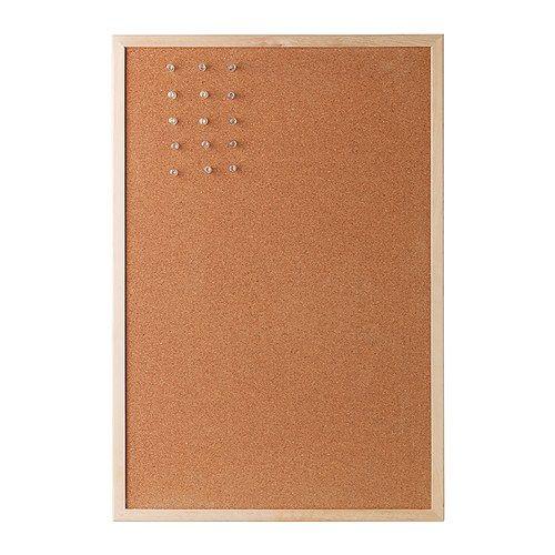 VÄGGIS Opslagstavle - IKEA Mal rammen og hæng op i stedet for billeder i køkkenet