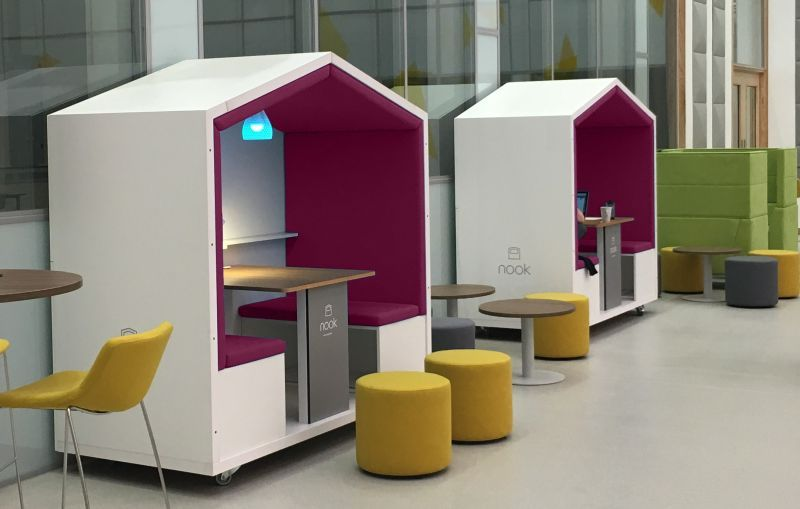 Nook Pod Is Movable Privacy Solution For Modern Workplace Office