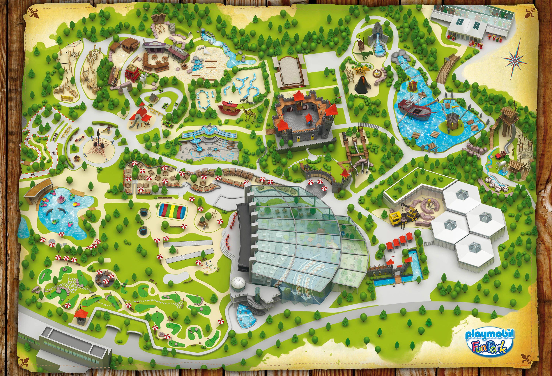 Playmobil Campingplatz Ausmalbilder : Playmobil Fun Park Map Playmobil Fun Park Pinterest Einrichtung