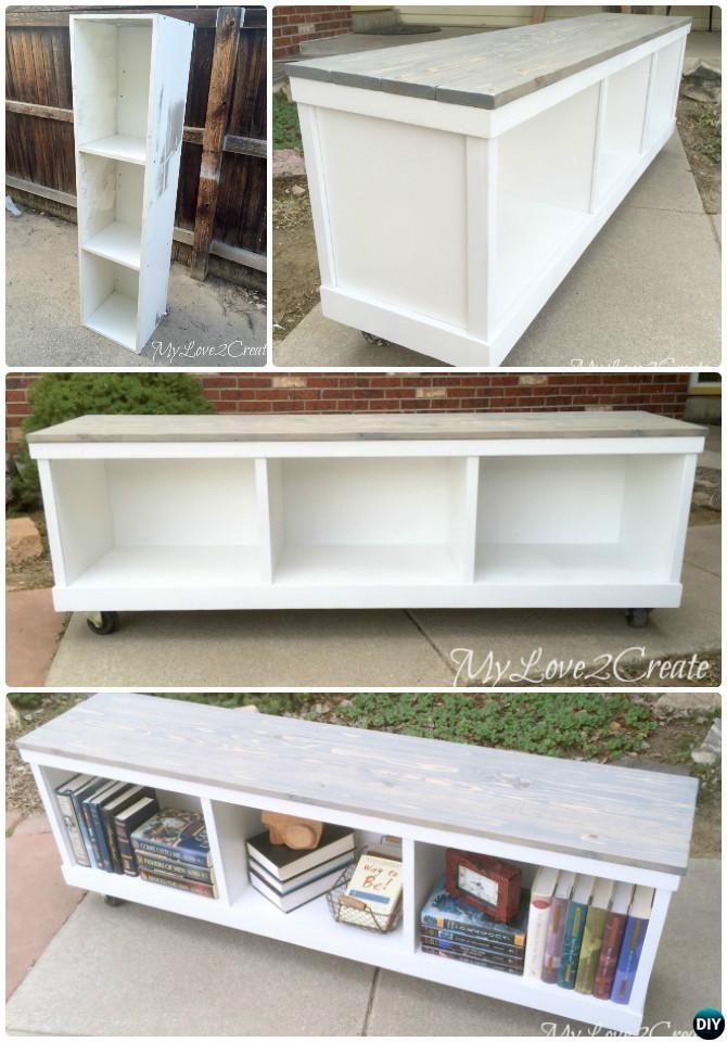 DIY $25 Farmhouse Bench & YouTube Video | Farmhouse bench, Bench ...