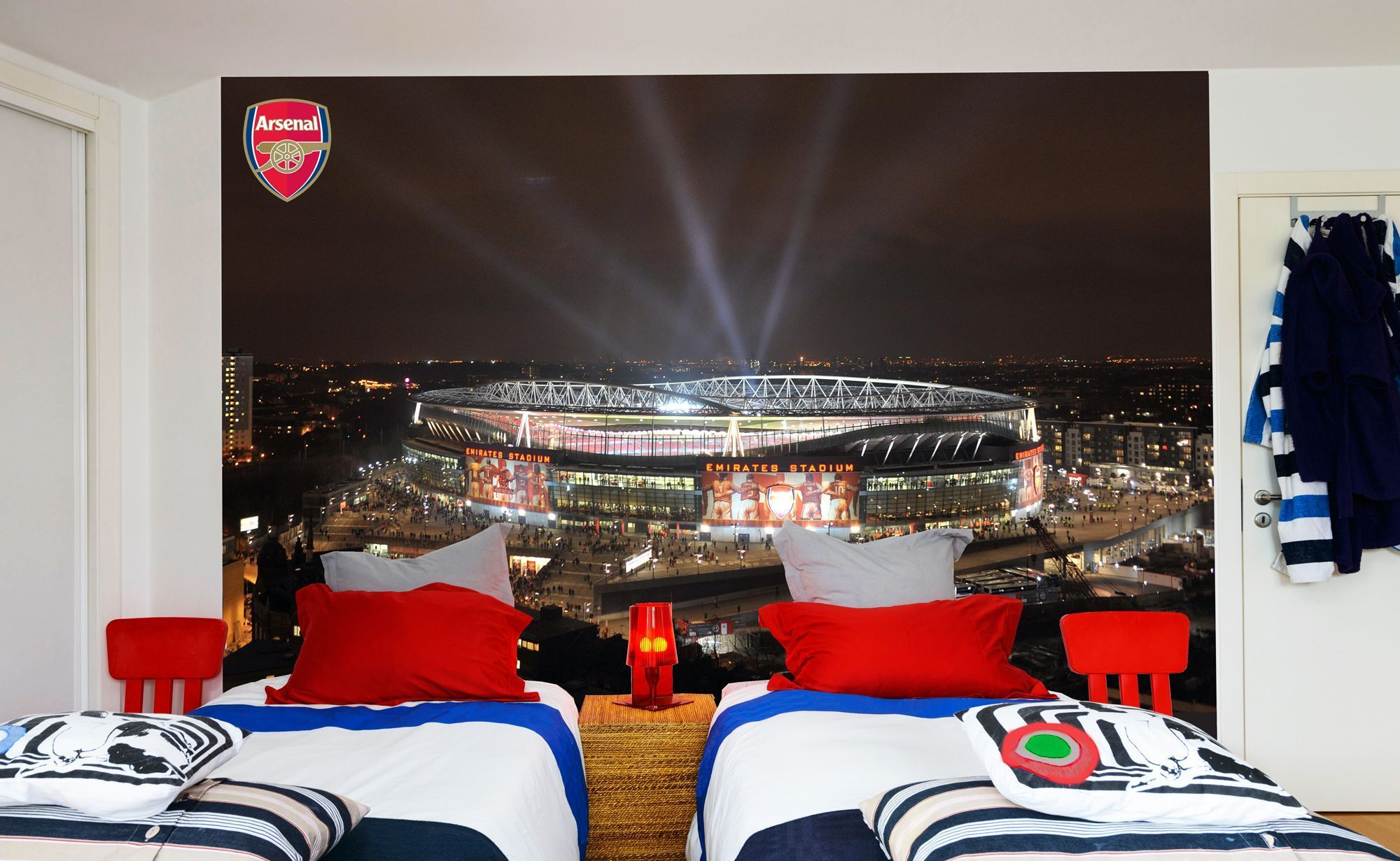 Best Arsenal Full Wall Outside Lights Wall Stickers Football 400 x 300