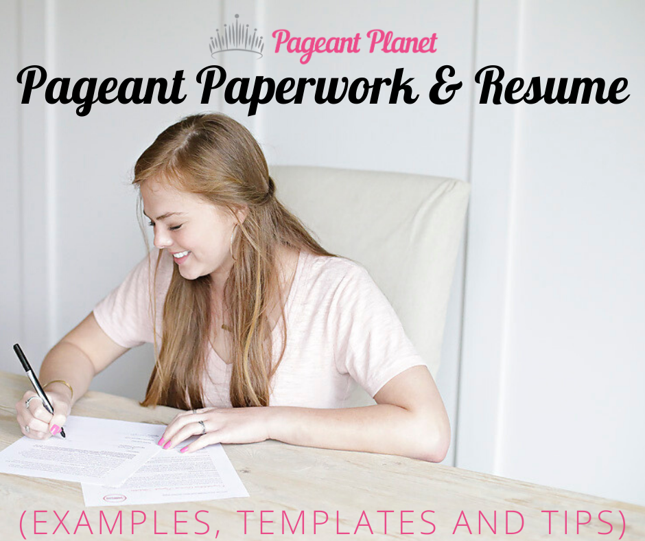 Pageant Paperwork Resume Examples Templates And Tips Everything That You Do In A Pageant Is About Communication Resume Examples Pageant Coaching Resume
