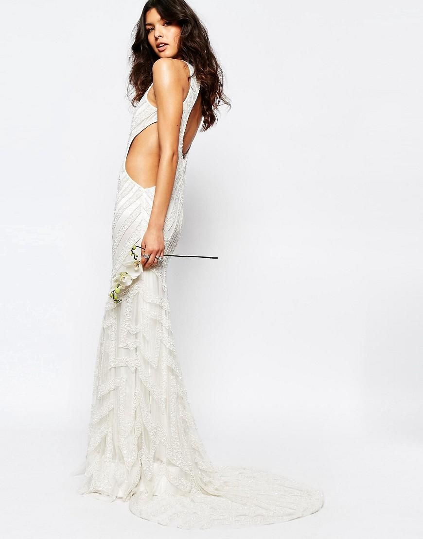 A Star Is Born Bridal Embellished Maxi Dress at asos.com  Event