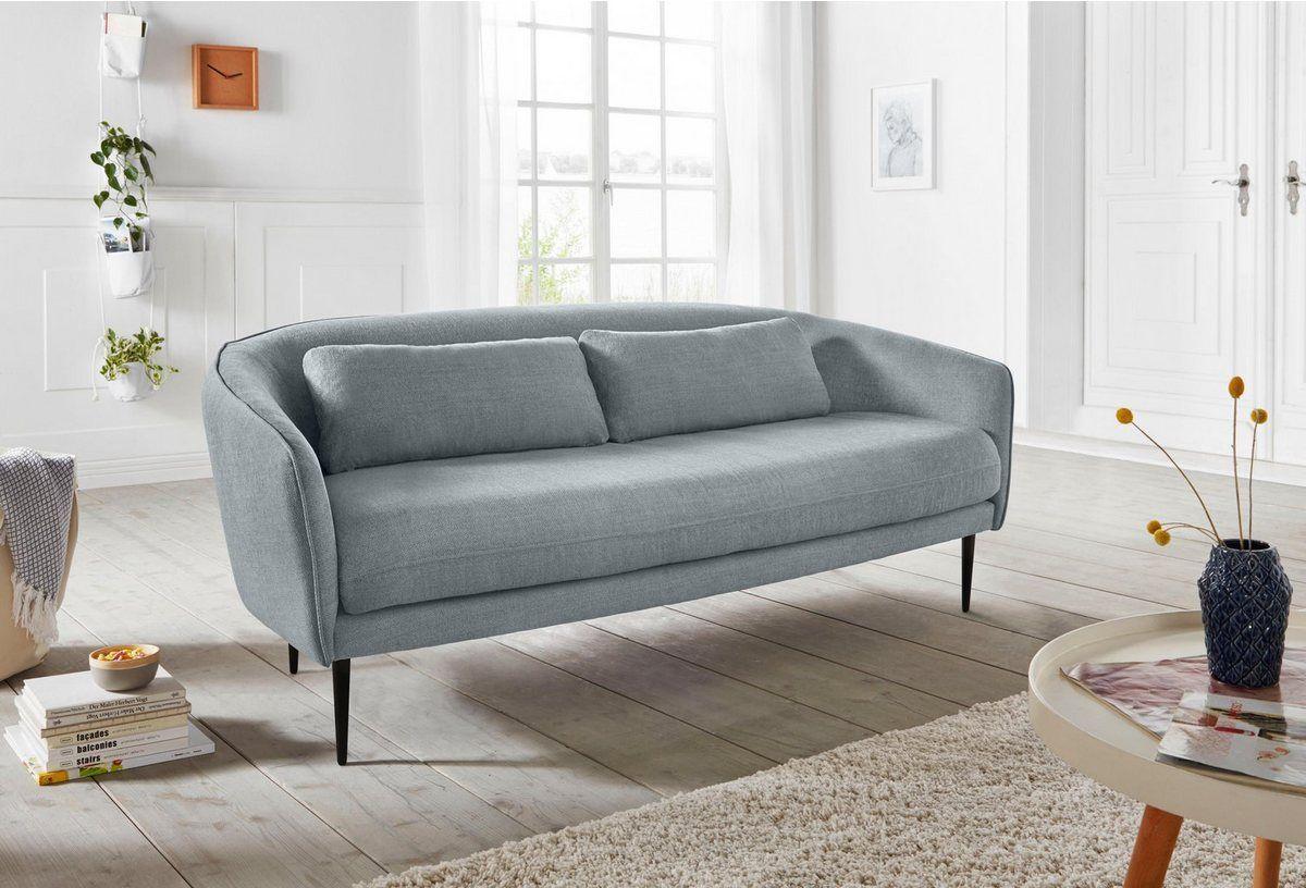 2 5 Sitzer Zany Mit Losen Kissen Und Holzbeinen Im Skandinavischem Design Skandinavisches Design 3 Sitzer Sofa Und Wohnen