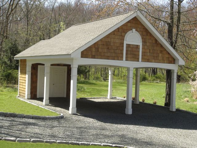 Plan 10107 Just Garage Plans Backyard Pavilion – Just Garage Plans