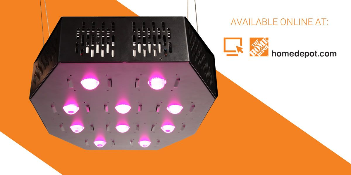 1k 1000 Watt Led Grow Light Now Available At Homedepot Com Led Grow Lights Led Led Grow