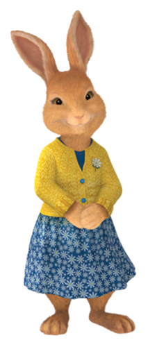 Peter Rabbit Nickelodeon Photo Mrs Rabbit In 2021 Cartoon Bunny Rabbit Png Peter Rabbit Birthday