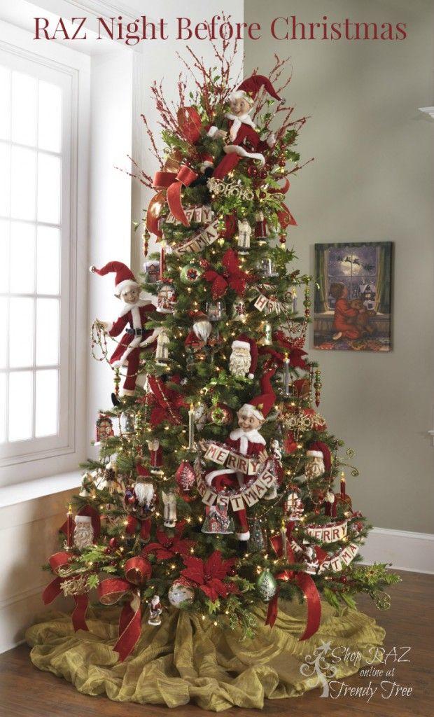 Perfect 2015 RAZ Christmas Trees