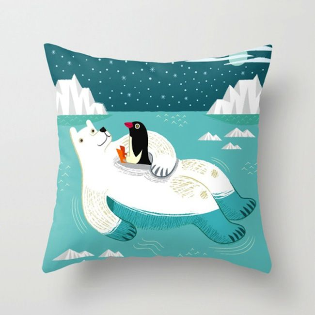 Throw Pillows - iota illustration