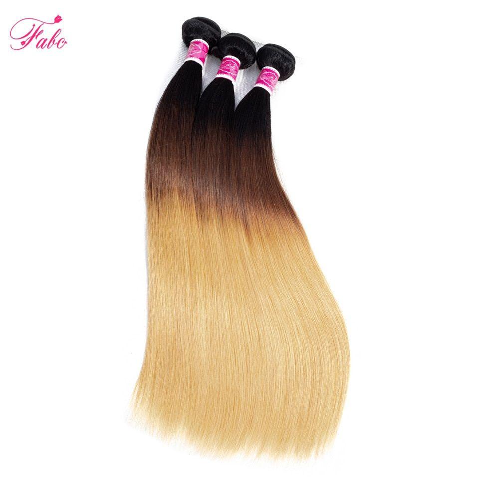 FABC Hair Brazilian Hair Weave Bundles 1b/4/27 Color