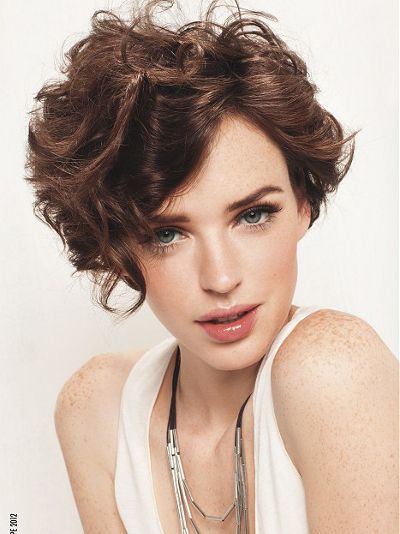 Naturally Curly Hairstyles Glamorous Short Hair For Naturally Curly Hairstyles  Curlywavy Hair