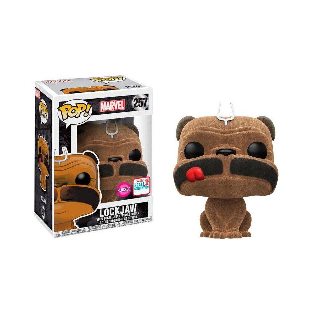 Funko ¡ Pop Vinilo Marvel Inhumans Lockjaw Figura No 257