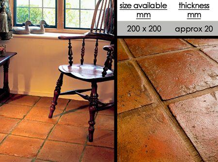 Uk Suppliers Of Terracotta Flooring And Quarry Floor Tiles Quarry