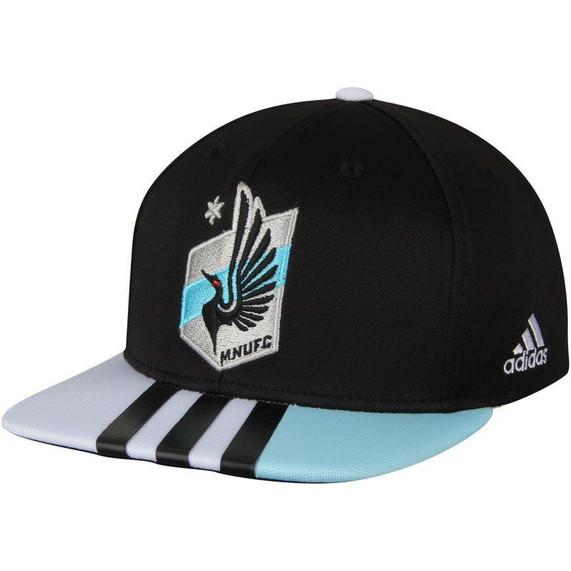 classic fit 19e29 605bd Minnesota United FC adidas Authentic Team Adjustable Snapback Hat - Black