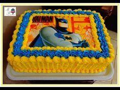 Decoracao Com Bico 1m Da Wilton Youtube Pasteles De Batman