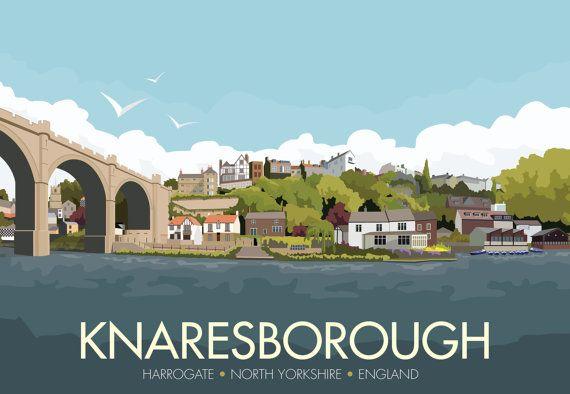 KNARESBOROUGH - HARROGATE - NORTH YORKSHIRE - ENGLAND  INSPIRATION Its not hard…