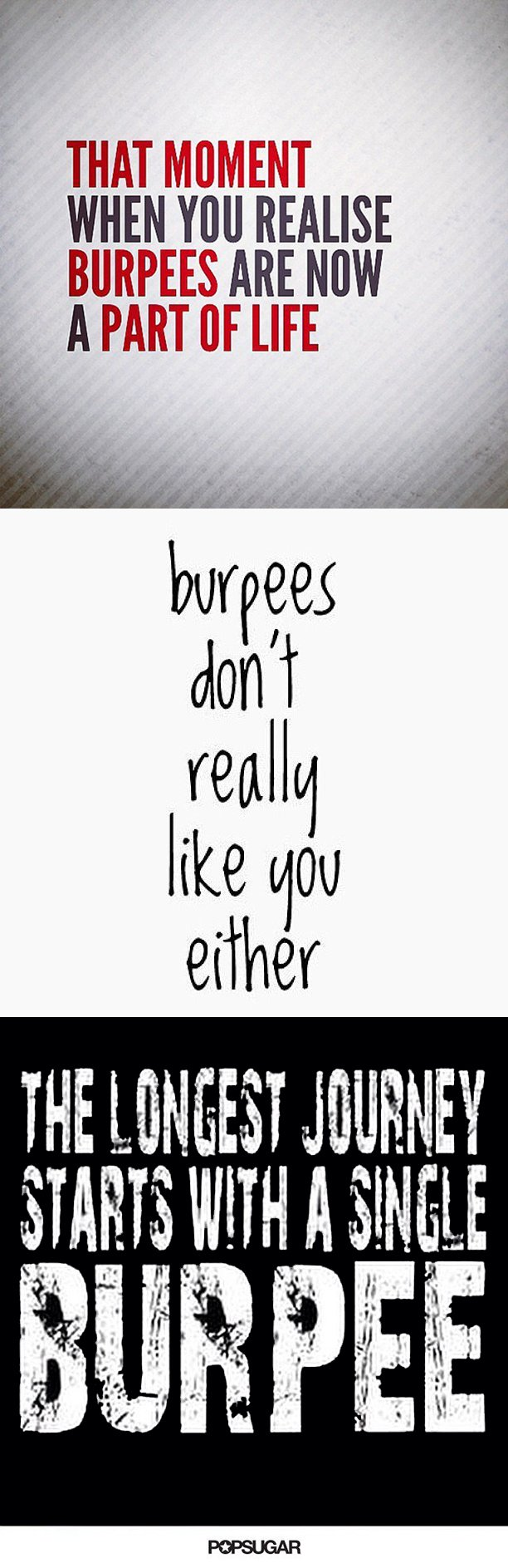 Painfully Funny Quotes About Burpees Ejercicios Y Pesas