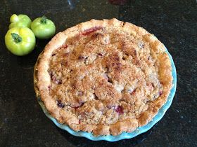Recipe Endeavors: Peach Blackberry Pie