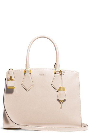 Michael Kors 'Large Casey' Leather Satchel | Nordstrom
