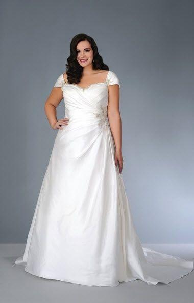 Robes de mariee pour femmes rondes