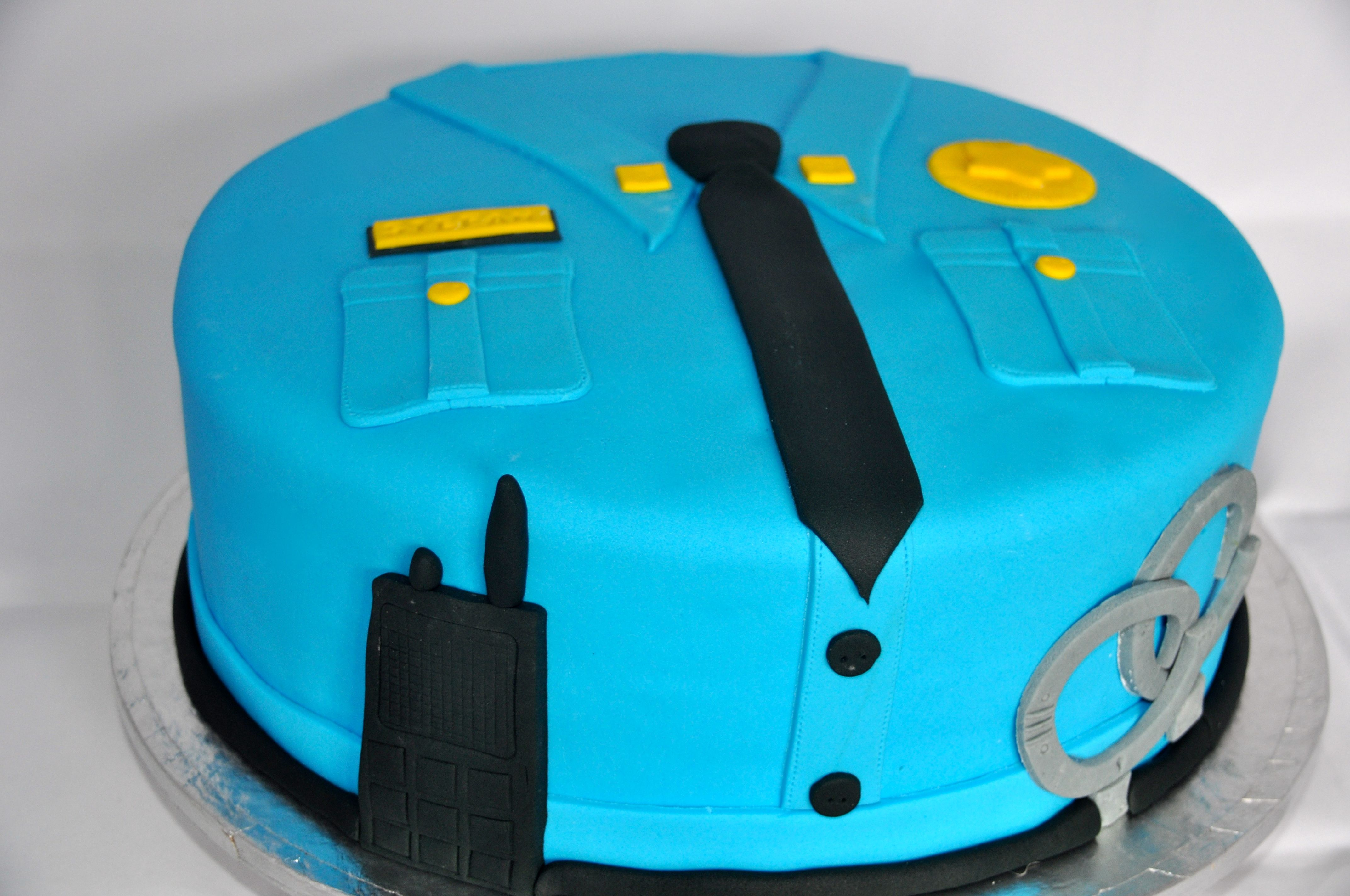 Admirable A Police Themed Cake Cakes For Kids Police Birthday Cakes Funny Birthday Cards Online Alyptdamsfinfo