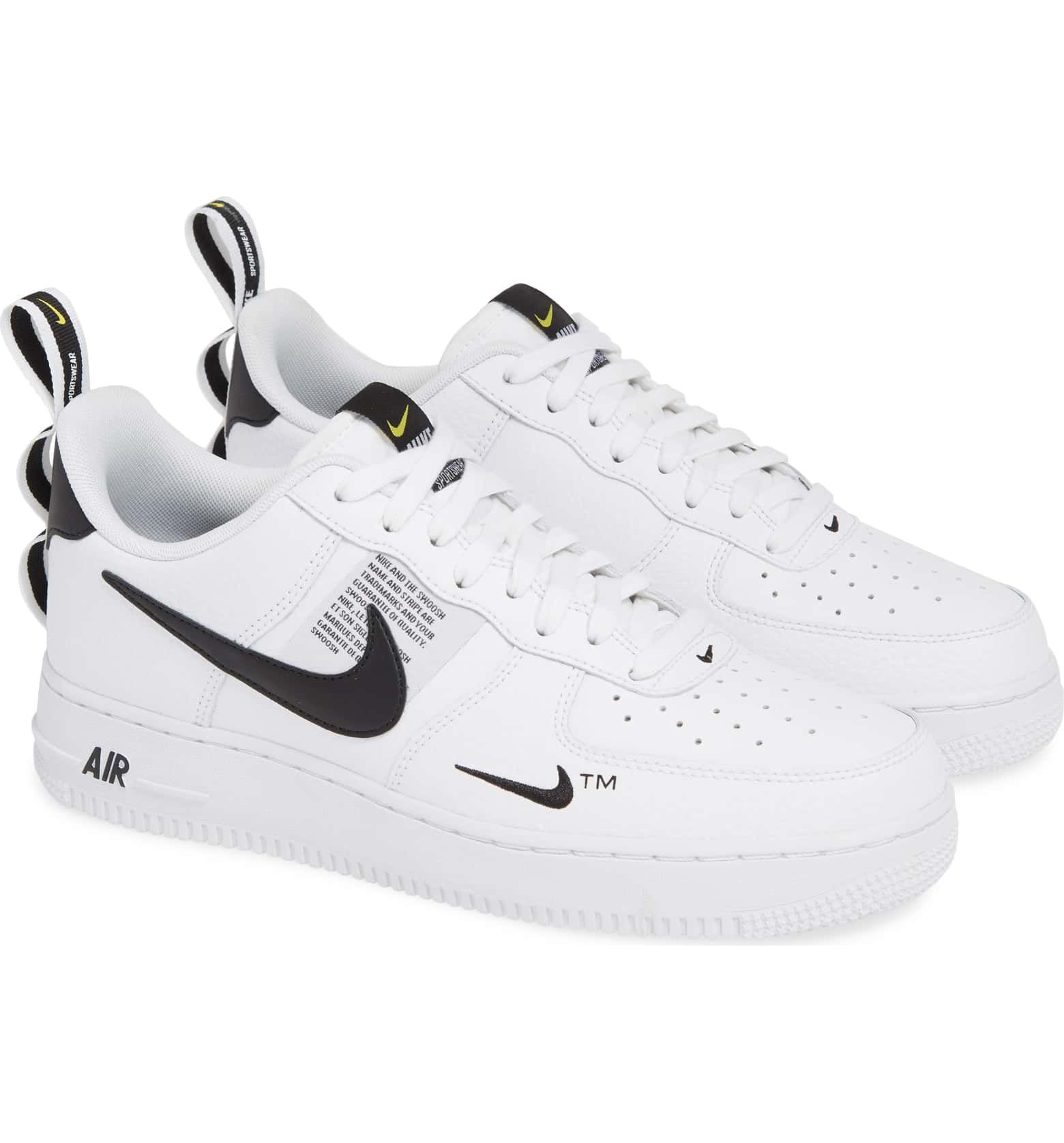 good service low price sale new product Air Force 1 '07 LV8 Utility Sneaker, Alternate, color, WHITE ...
