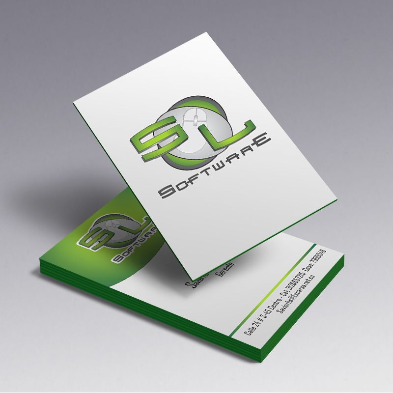 Sl Software, Business Cards | Logos | Pinterest | Business cards and ...