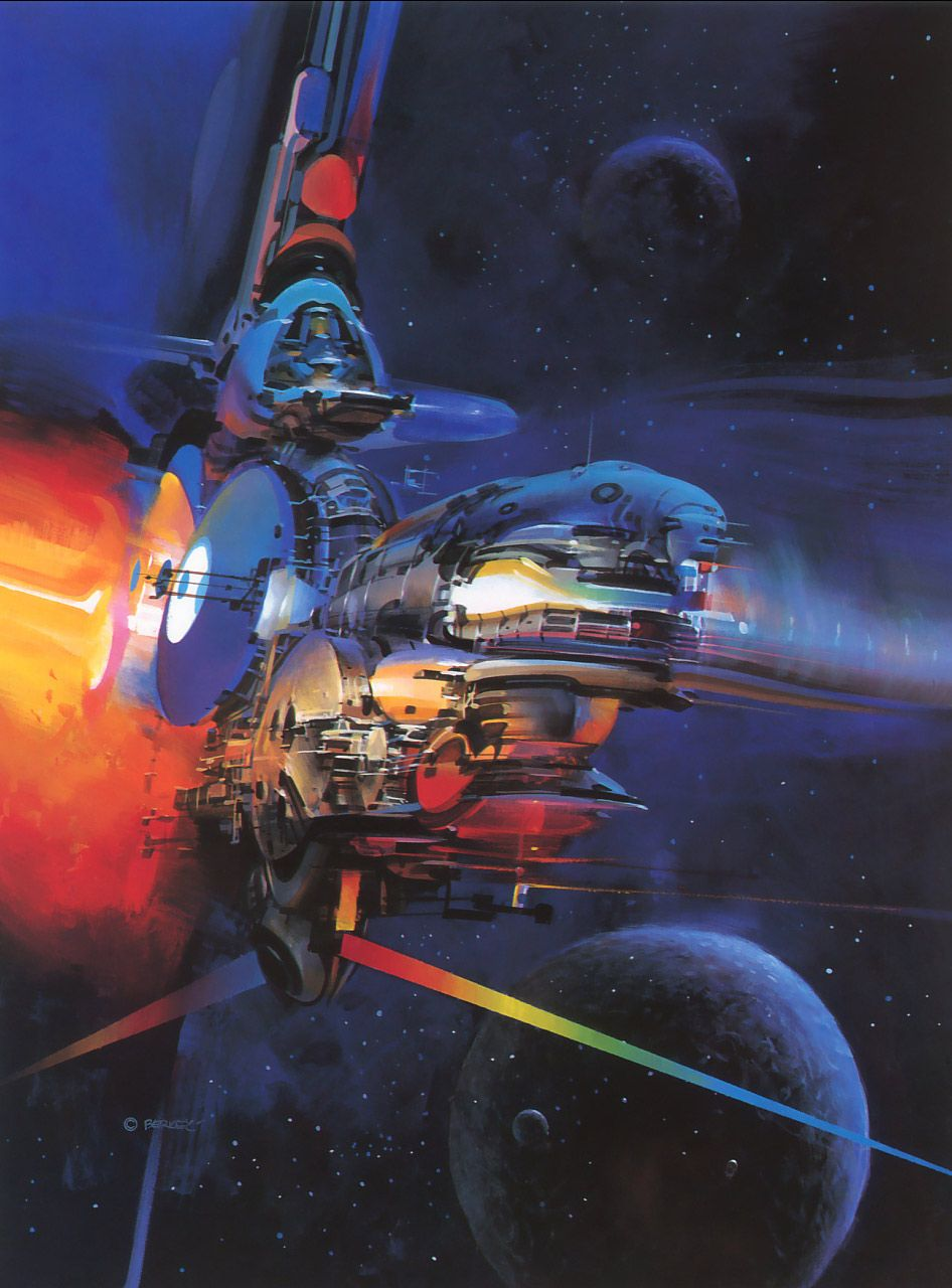 August is officially John Berkey month here at conceptships. Yesterday was our 6 year anniversary so I thought an extensive John Berkey po...