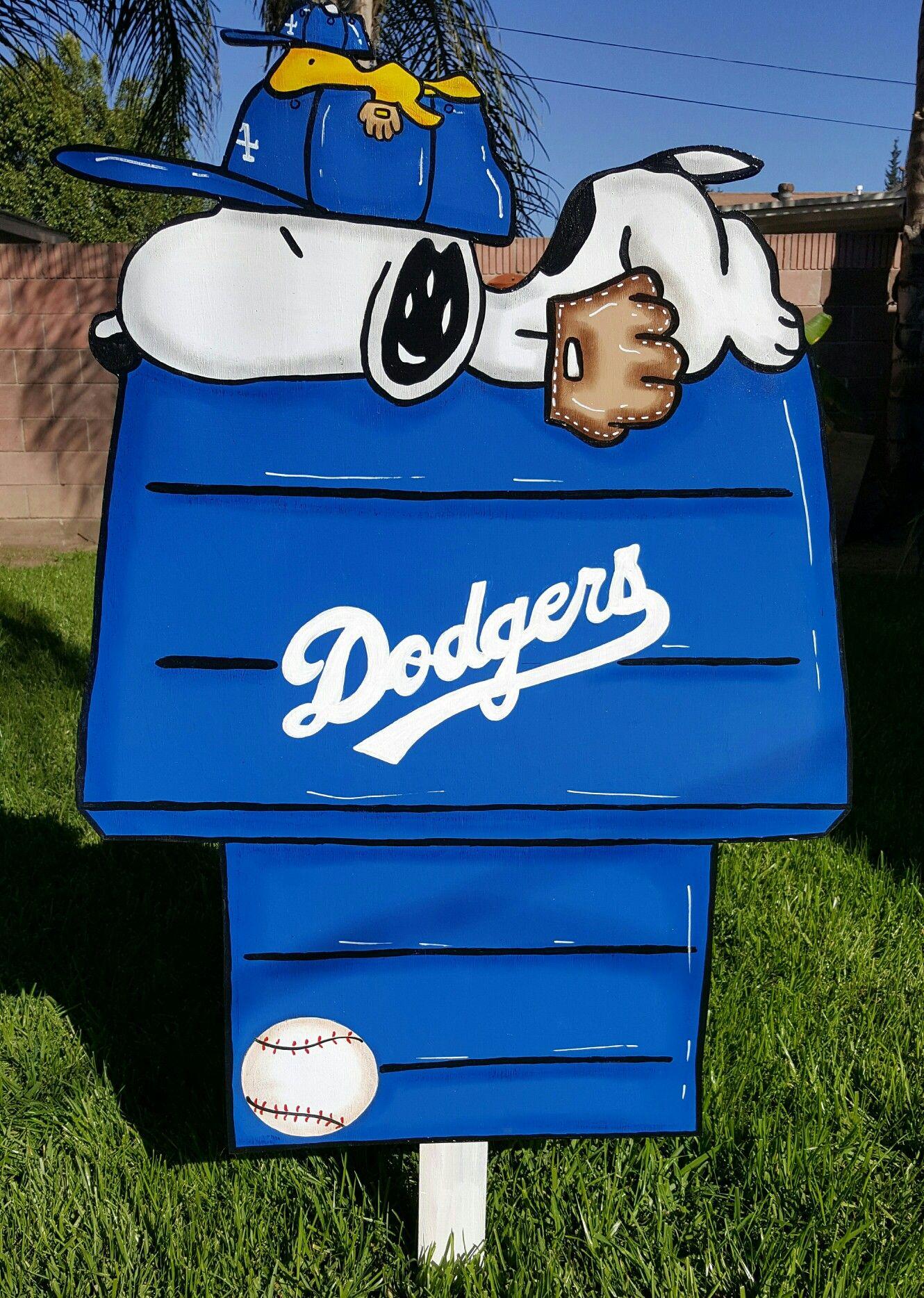 Dodgers Lawn Sign Dodgers girl, La dodgers baseball
