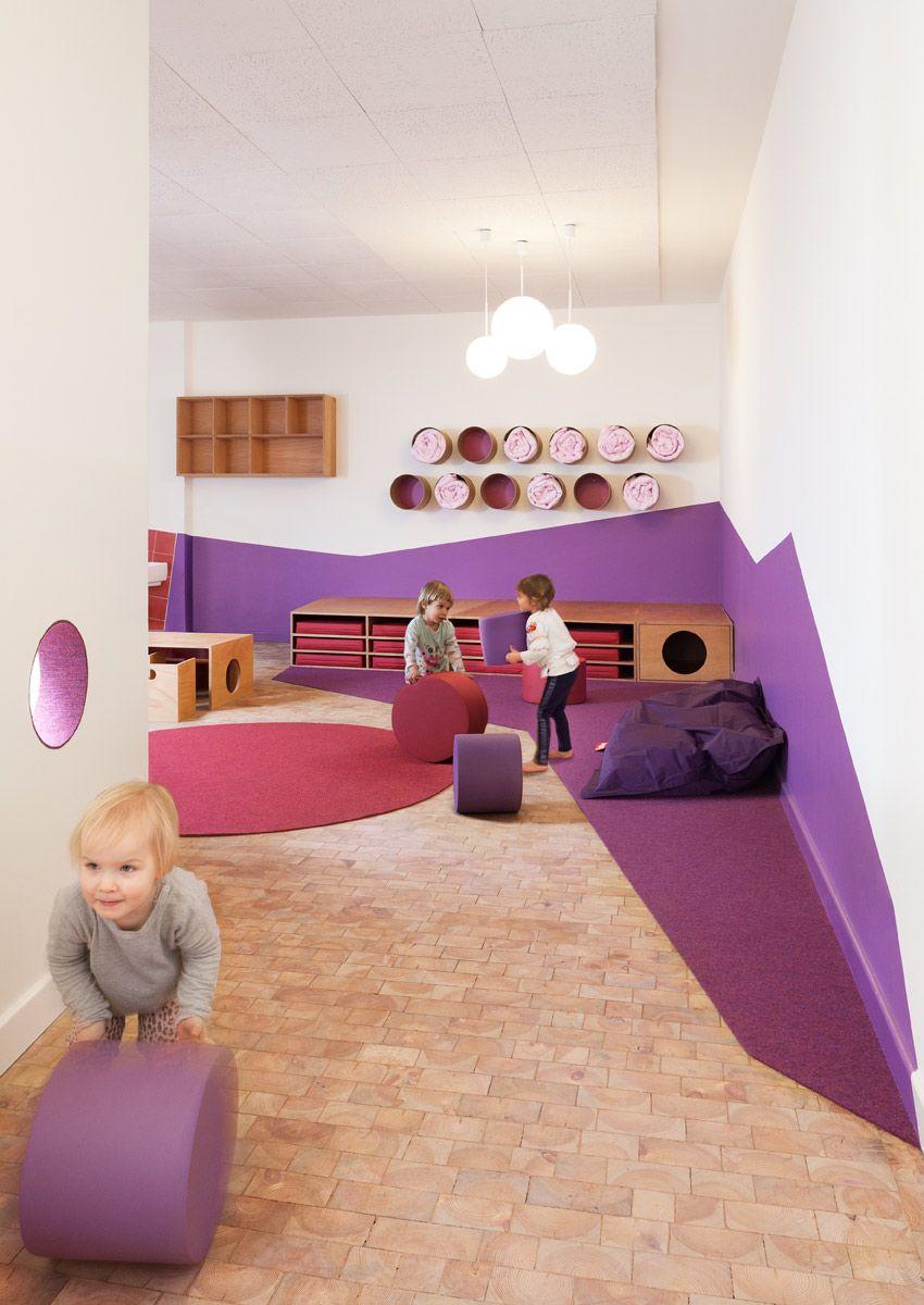 KITA SINNESWANDEL — baukind Architekten #kitaräume