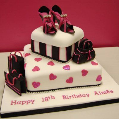 Purse Birthday Cake cakes Pinterest Birthday cakes Cake and
