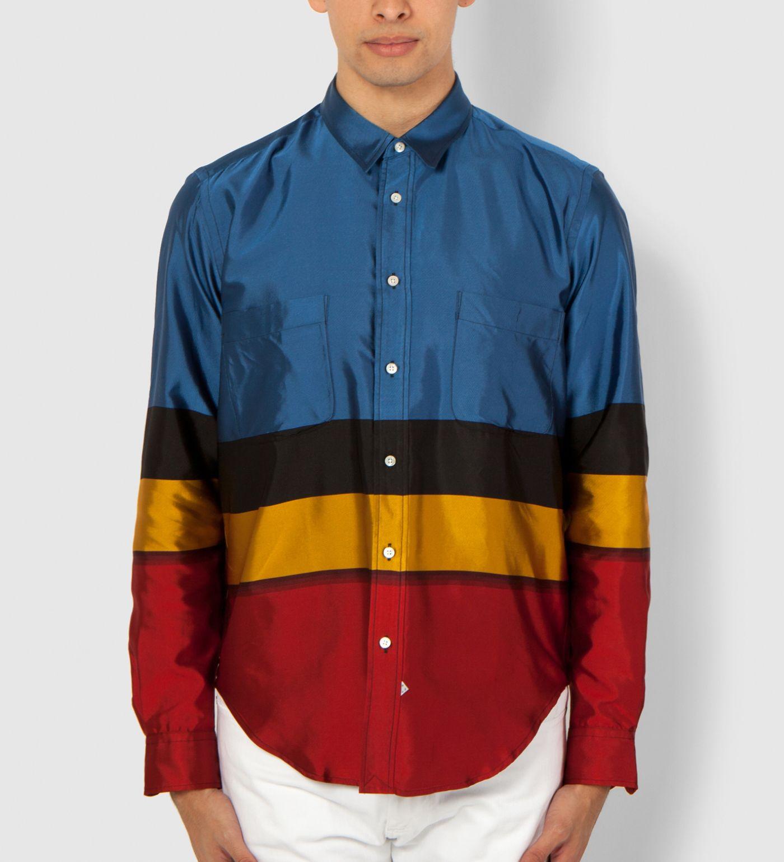 Sidian, Ersatz & Vanes Blue/Red/Yellow/Black Shirt | HYPEBEAST Store.