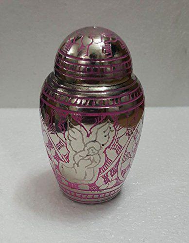 Small Decorative Urns Pink Angel Small Keepsake Brass Memorial Urn Angel Cremation Urns