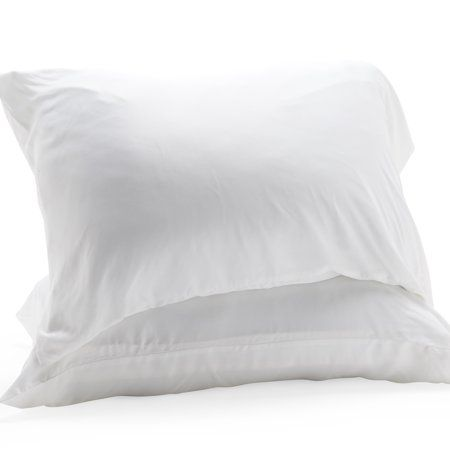 4c40835faa16 MoDRN Luxury Pillowcase Set made from 100% Bamboo Viscose, White in ...