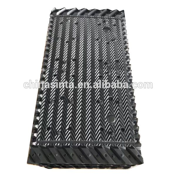 Black Pvc Rigid Sheet For Industrial Cooling Tower Fill With